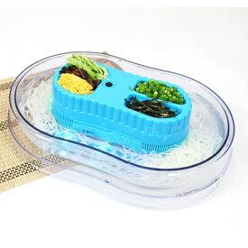 流しそうめん器 卓上 ファミリーサイズ どこでも使える コードレス 電池式 薬味入れ付き LEDライト搭載 BBQ パーティー 家庭用 食卓 電動 イベント アウトドア 涼み 夏物 玩具 送料無料 ###流し器WT-6A-3###