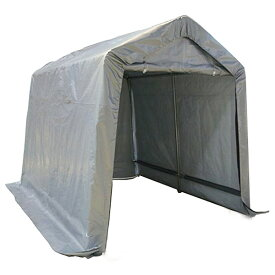 大型テント ガレージテント 2.4x3m スチール 車庫 バイク&小型自動車ガレージ 送料無料 お宝プライス ###テントC810101◇###
