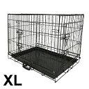 ペットケージ 折りたたみ 中型犬用 大型犬用 XLサイズ ペットゲージ 犬 ケージ 小屋 サークル ゲージ 猫 屋内 キャッ…