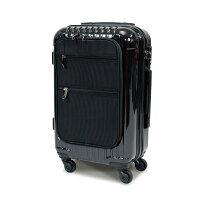 【送料無料】フロントポケット付小型スーツケースビジネスキャリーケーストロリーケースTSA機内持込可35L1〜3日/###ケースHL2153-S###