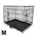 ペットケージ 折りたたみ 小型犬用 Mサイズ ペットゲージ 犬 ケージ 小屋 サークル ゲージ 猫 屋内 キャットケージ 室…