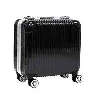 スーツケースアルミフレームTSAロックビジネスキャリーケース28L機内持ち込み可オシャレ丈夫トラベルケース送料無料/###ケースDH108黒###