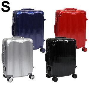 スーツケース Sサイズ アルミフレーム キャリーケース 軽量 TSAロック 35L 1〜3日 オシャレ 丈夫 トラベルケース 送料無料 お宝プライス ###ケースDH101-S###
