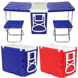 クーラーボックス 2way 折りたたみ テーブル チェア 28L キャスター付き キャリーハンドル クーラーバッグ クーラーバスケット クーラーBOX 28リットル 冷蔵ボックス アウトドアテーブル 送料無料 お宝プライス ###ボックスNR-9191###