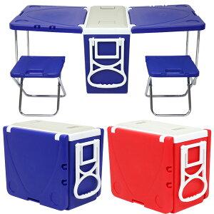 クーラーボックス 2way 折りたたみ テーブル チェア 28L キャスター付き キャリーハンドル クーラーバッグ クーラーバスケット クーラーBOX 28リットル 冷蔵ボックス アウトドアテーブル 送料