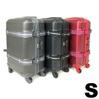 スーツケース頑丈安全ベルト付き機内持ち込み35LTSAロック軽量キャリーケース1〜3泊用Sサイズ送料無料/###ケースABS40-S###