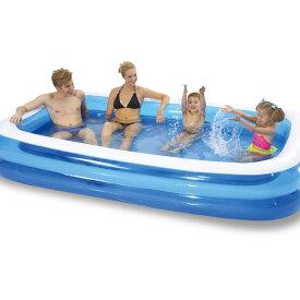 プール ビニールプール ファミリープール 大型 260×170cm 2気室 クッション性 水あそび レジャープール 家庭用プール 子供用プール 送料無料 お宝プライス###プールAPL102-N###