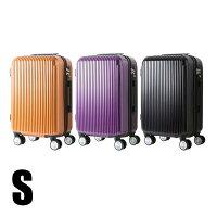 スーツケースS小型Sサイズ35L2泊〜3泊キャリーケースキャリーバッグ鏡面加工マット加工4輪ダブルキャスター8輪キャスター超軽量軽量送料無料###ケースYP110W-S###