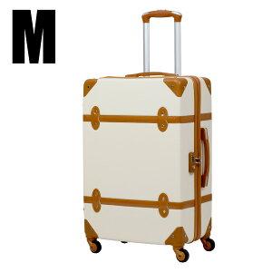 スーツケース M サイズ トランクケース TSAロック搭載 4日〜7日用 中型 軽量 トランク キャリーケース キャリーバッグ おしゃれ かわいい 4輪 suitcase 送料無料 ###トランクA-09-M###