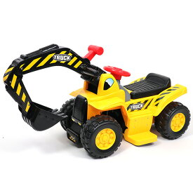 電動乗用ショベルカー 乗用ラジコン 充電式 働く車 工事車両 重機 子供用 乗用玩具 乗り物 送料無料 お宝プライス ###ショベルカー608BM###