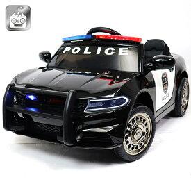 電動乗用パトカー 電動乗用カー アメリカンポリス パトカー 乗用玩具 子供用 充電式 ライト点灯 ハンドマイク付き おしゃれ かっこいい かわいい 送料無料 抽選対象 ###乗用カーBJC666###