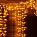 イルミネーション LED ライト つらら ツララ 144球 屋外 室内 防水 連結可 クリスマス ハロウィン 飾りつけ 送料無料 …