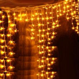 イルミネーション LED ライト つらら ツララ 144球 屋外 室内 防水 連結可 クリスマス ハロウィン 飾りつけ 送料無料 お宝プライス ###イルミ144T-###