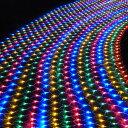 イルミネーション LED ライト ネット 網 288球 屋外 室内 防水 連結可 クリスマス ハロウィン 飾りつけ 送料無料 お宝…