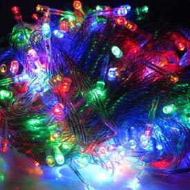 イルミネーション LED ライト ストレート 100球 屋外 室内 防水 連結可 クリスマス ハロウィン 飾りつけ 送料無料 お宝プライス ###イルミ100LDC-###