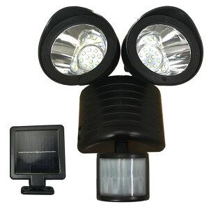 ソーラーライト 屋外 人感センサー センサーライト LEDライト 11LED×2灯 LEDソーラーセンサーライト ガーデンライト ソーラー充電 自動点灯 玄関 物置 部屋 防犯対策 防犯ライト 送料無料 お宝