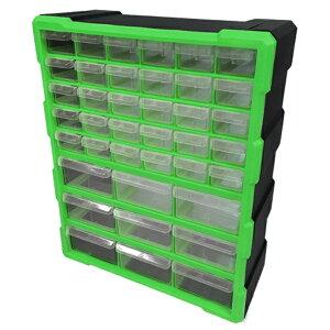 パーツボックス ツールボックス 工具箱 パーツケース 引き出し 39個 小物収納 キャビネット 送料無料 お宝プライス ###工具箱PB002緑###