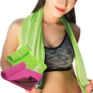 冷却タオル ひんやりタオル クールタオル スポーツタオル 専用ボトル付き 熱中症対策グッズ ネッククーラー アイスタオル 冷たいタオル 冷えるタオル 涼しい 速乾 吸汗 吸水 軽量 超冷感 送
