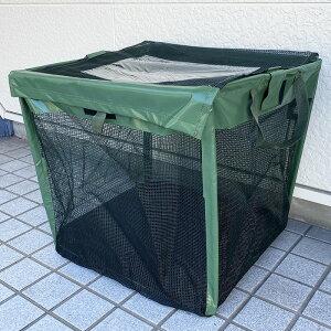 ゴミステーション 90L カラスよけ ゴミネット からすよけゴミボックス カラス ゴミ ボックス 折り畳み ゴミストッカー 家庭用 ゴミネット ネット 折りたたみ式 ベランダ 戸別収集 からすよけ