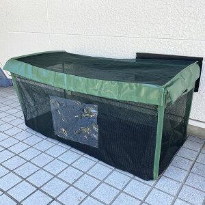 ゴミステーション 180L カラスよけ ゴミネット からすよけゴミボックス カラス ゴミ ボックス 折り畳み ゴミストッカー 家庭用 ゴミネット ネット 折りたたみ式 ベランダ 戸別収集 からすよ