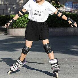 プロテクター 3点セット 子供 キッズ 幼児 ジュニア 大人用 自転車 男の子 女の子 エスボード ランニングバイク スケートボード スケボー 送料無料 ###プロテクター120-L###