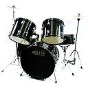 子供用ミニドラムセット 黒 パーカッションおもちゃ おもちゃドラムセット 子供用ドラムセット 送料無料 お宝プライス…
