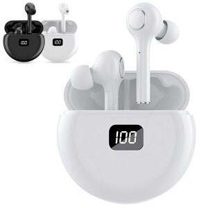 Bluetooth イヤホン ワイヤレスイヤホン 高音質 左右分離型 自動ペアリング 残量表示 左右分離型ブルートゥース イヤホン 防水 マイク付き ハンズフリー通話 ノイズキャンセリング 送料無料 ##