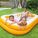 プール ビニールプール 大型 家庭用プール ファミリープール 大型プール ジャンボプール 2.2m エアープール プレイプ…