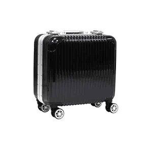 スーツケース キャリーバッグ TSAロック搭載 アルミフレーム 旅行カバン 男女兼用 ###ケースDH108黒###