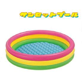 ビニールプール 子供用 家庭用 円形 サークルプール ファミリープール キッズプール 147×33###プール57422###