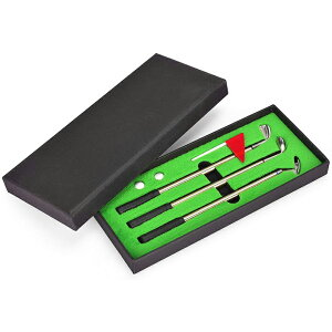 無料ラッピング ゴルフ ゴルフクラブ ボールペン 3本セット###ペンGOLF-MNQC###