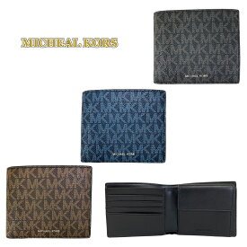 マイケルコース 財布 二つ折り財布 メンズ MICHEAL KORS 36U9LCRF3B 新品