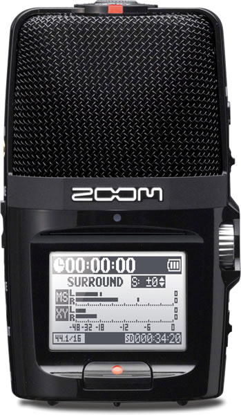 ZOOM ズーム ハンディー・レコーダー H2n 【RCP】【zn】