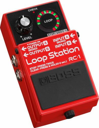 【即日発送O.K】BOSS Loop Station RC-1 ボス コンパクト・エフェクター【送料無料】【smtb-ms】【RCP】【zn】