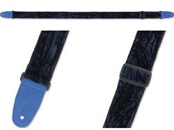 【即日発送O.K】RENEGADECrushedVelvetVEL-BLエレキギター・ベース用ストラップ【smtb-ms】【RCP】【zn】