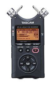 TASCAM タスカム DR-40 VER2-J 24/96対応リニアPCMレコーダー日本語表示メニュー表示【RCP】【zn】