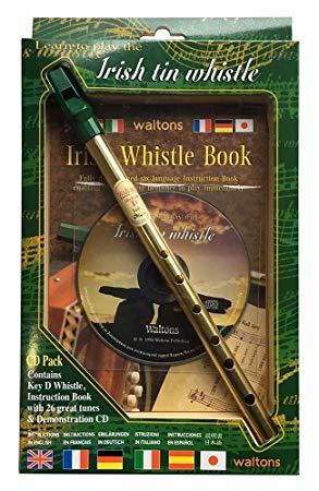 【即日発送O.K】waltons ウォルトンズ ティンホイッスル 1514 楽器・教本・CDのセット【smtb-ms】【RCP】【zn】