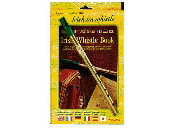 【即日発送O.K】waltons ウォルトンズ ティンホイッスル 1504 楽器・教本のセット【smtb-ms】【RCP】【zn】