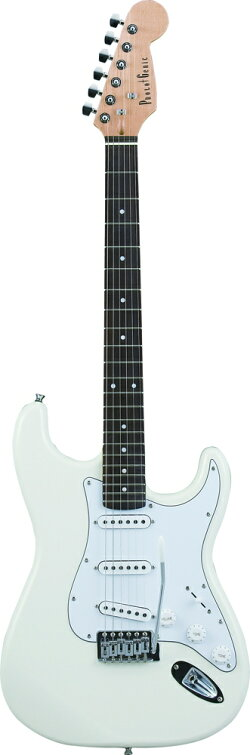 【エレキギター初心者8点セット】フォトジェニックST-180WH【メーカー直送】【smtb-ms】【RCP】【zn】