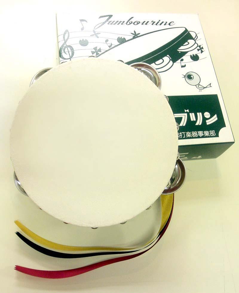 タンバリン 15cm 赤枠 ヤマヨ【RCP】【zn】