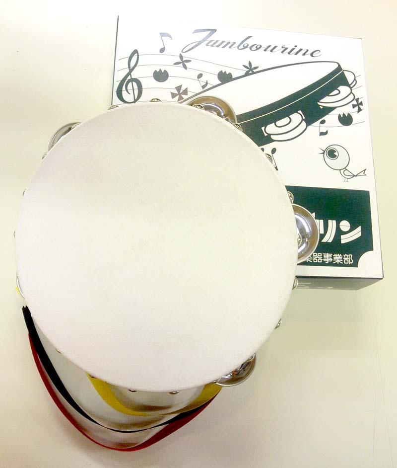 タンバリン 18cm 木枠 ヤマヨ【RCP】【zn】