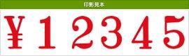 テクノタッチ回転印欧文4連(明朝体)初号
