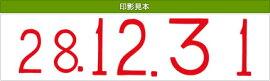 テクノタッチ回転印定期用日付【ロ】