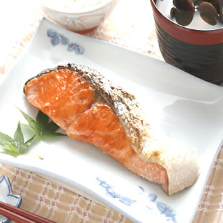 毎朝の朝食にプレミア天然紅鮭