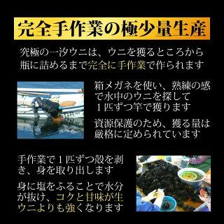 北海道礼文島究極のひと汐うに一汐ウニ一汐うに
