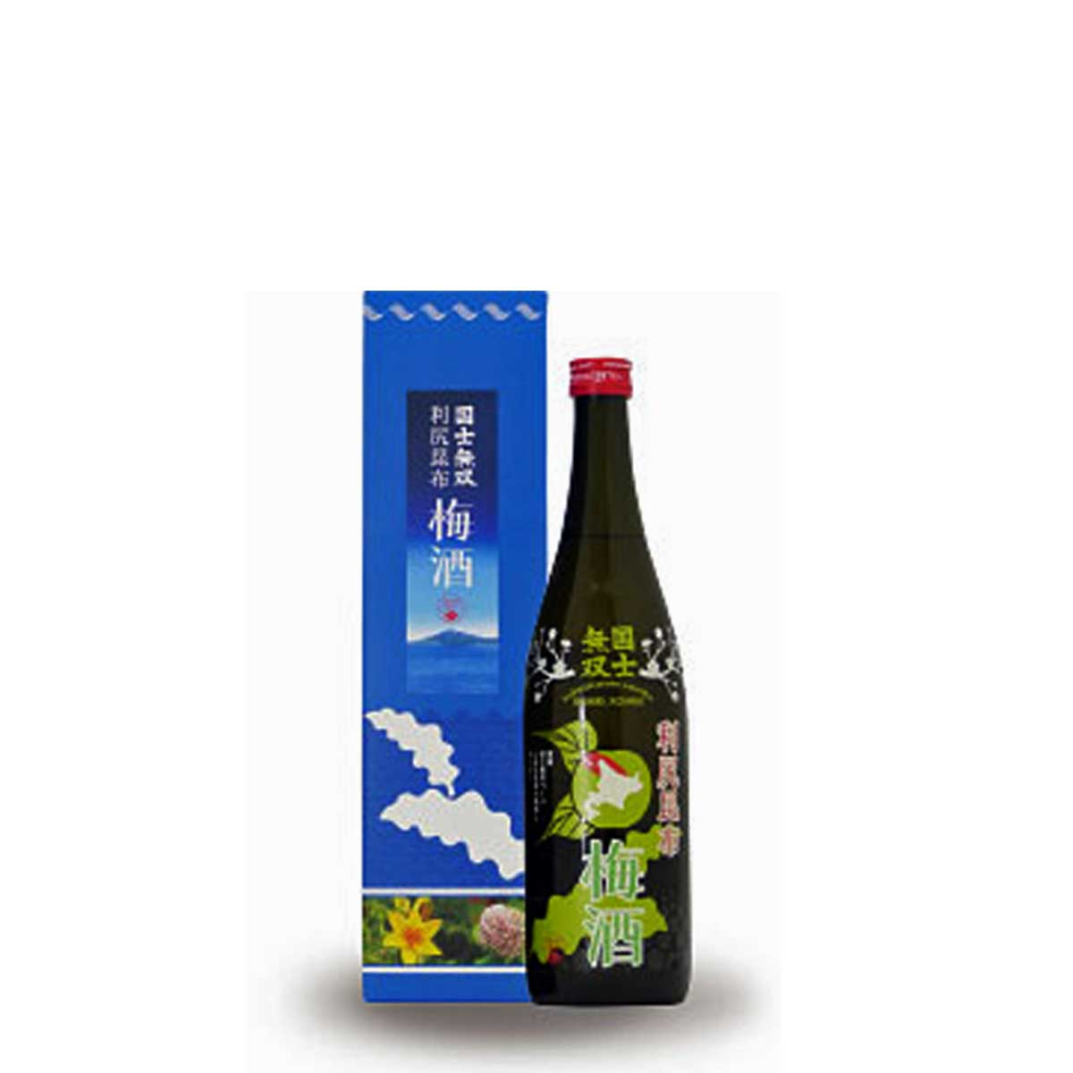 旭川 高砂酒造 国士無双 利尻昆布 梅酒 720ml