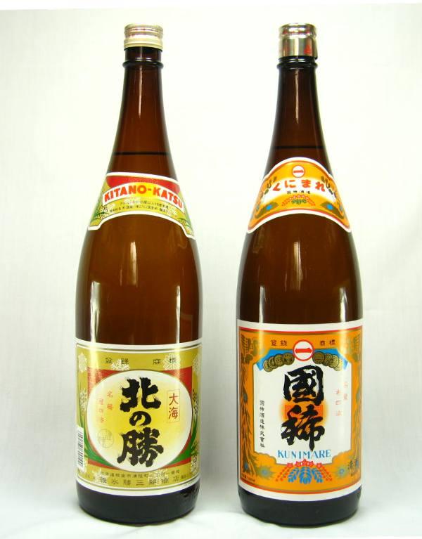 北海道の酒 北の勝 大海 1800ML 国稀 佳撰  1800ML