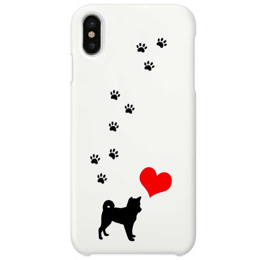 【メール便可】 iPhone X ケース ハード pc カバー ホワイトケース 散歩大好き  柴犬   iPhoneケース 犬 iPhoneカバー x ドッグ クリア iphonexケース iphonexカバー かわいい x iphonex 雑貨 アイフォン アイフォンxケース