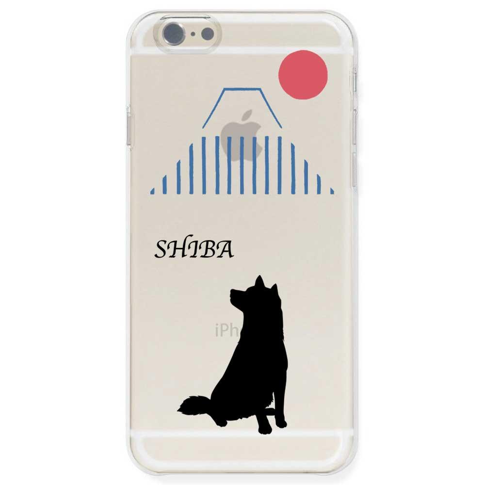 iPhone6s / iPhone6 ケース TPU ソフト クリアケース 半透明 ドッグ 柴犬 日本風