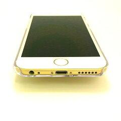 iPhone6sケースハードケースポリカーボネイトクリアトイプードルBK